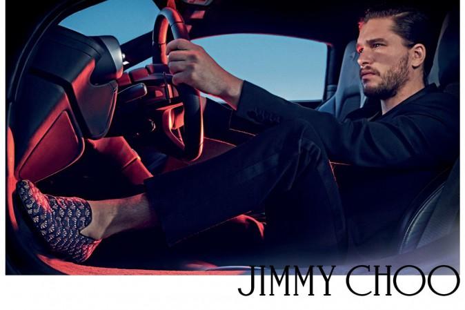 Mode : Photos : Kit Harington : il pose une nouvelle fois pour Jimmy Choo !