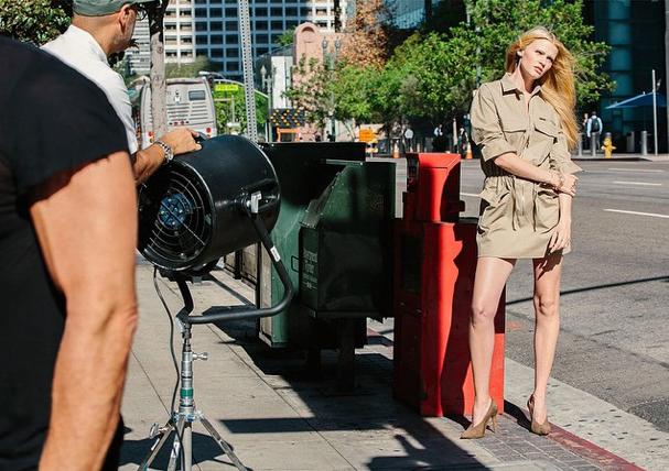 Mode : Photos : Lara Stone : Sublime égérie pour H&M New Neutrals !