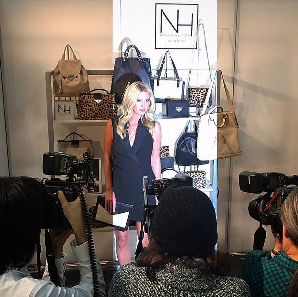 Mode : Photos : Nicky Hilton développe une collection capsule avec Linea Pelle !
