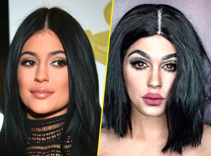 Paolo Ballesteros : Il se transforme en ...  Kylie Jenner !