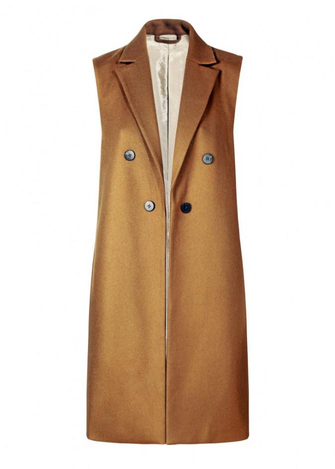 Veste de tailleur sans manches, Mango 89,99€