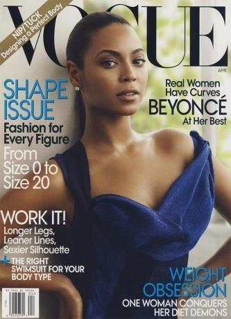 Beyoncé, pulpeuse en 2009