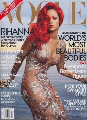 Rihanna, sculpturale en 2011