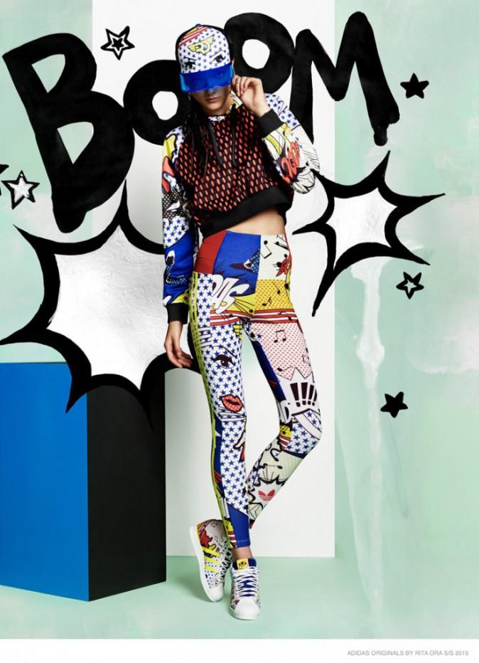 Mode : Photos : Rita Ora x Adidas : Préparez-vos yeux, ça va faire mal !