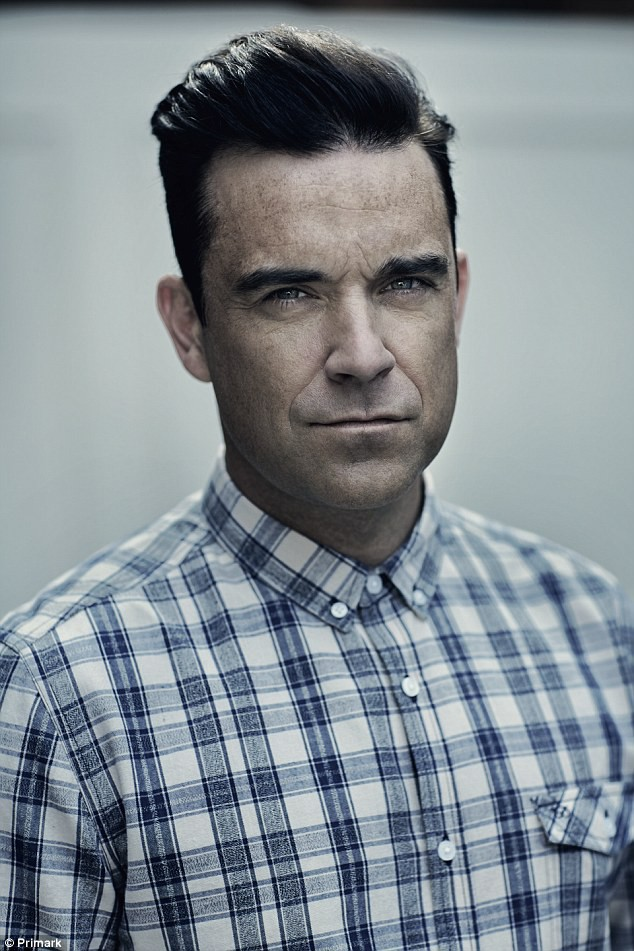 Mode : Photos : Robbie Williams lance une ligne chez Primark !