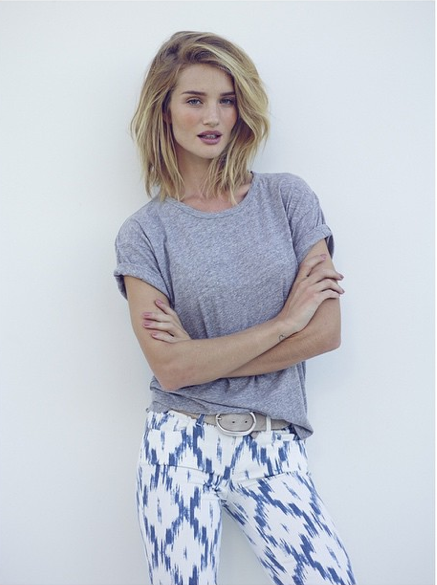 Mode : Photos : Rosie Huntington-Whiteley continue de couper ses cheveux
