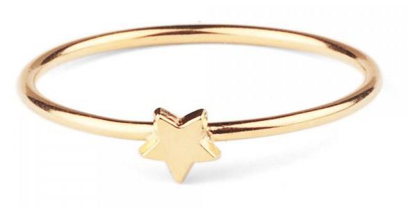 Bague étoile en vermeil, Les Inutiles sur lesinutiles.fr 38 €