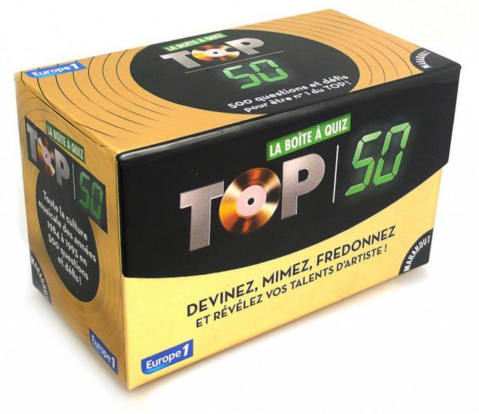 Jeu boîte à quiz Top 50, éditions Marabout 10,50 €
