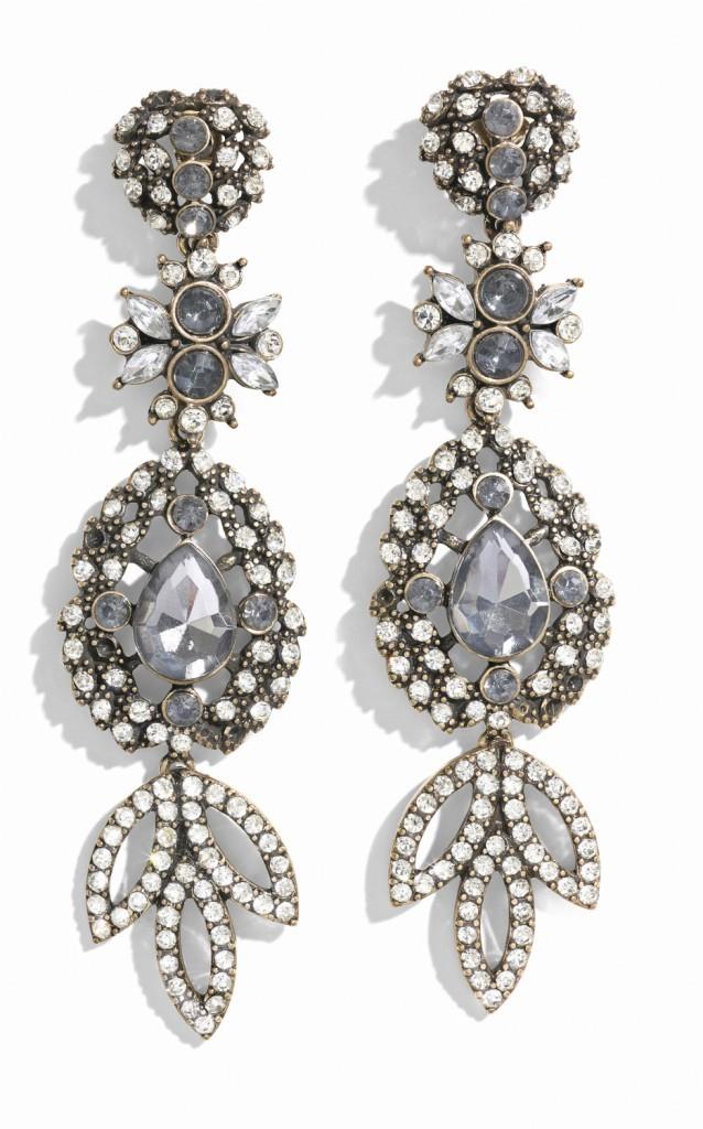 Boucles d'oreilles bijoux, H&M 9,99€