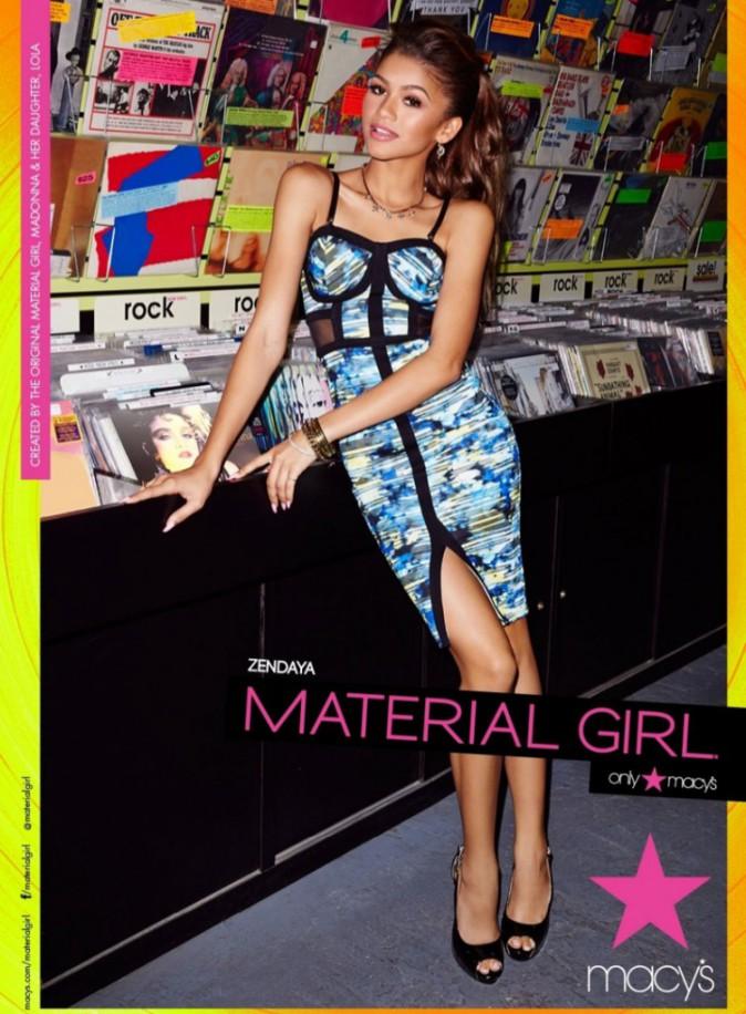 Mode : Photos : Zendaya : elle pose à nouveau pour la marque de Madonna !