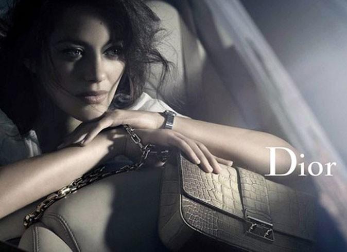 Marion Cotillard dans la nouvelle campagne Miss Dior !
