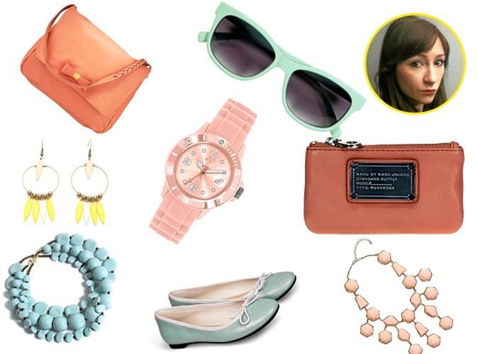 La sélection pastel spécial accessoires de Capucine, rédactrice en chef adjointe mode-beauté !