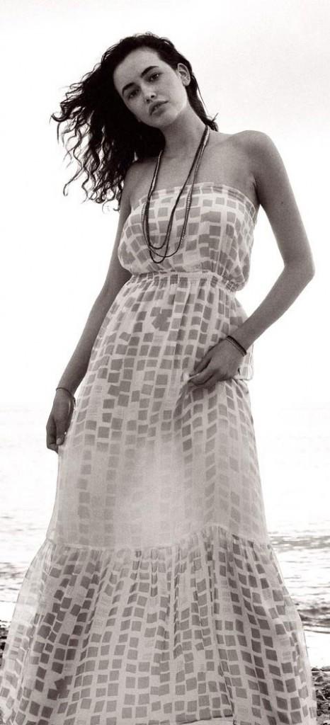 Mode printemps-été 2011 : une robe longue bustier Quiksilver !