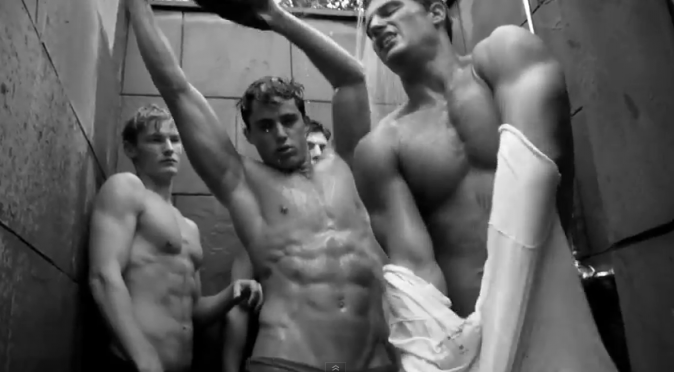 Campagne publicitaire 2012 Abercrombie & Fitch