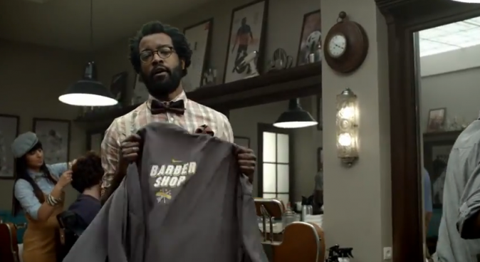The Nike Barbershop