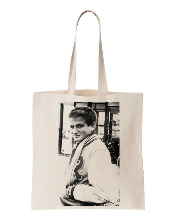 Cabas Robin Williams, Cool and the bag. 15 €.