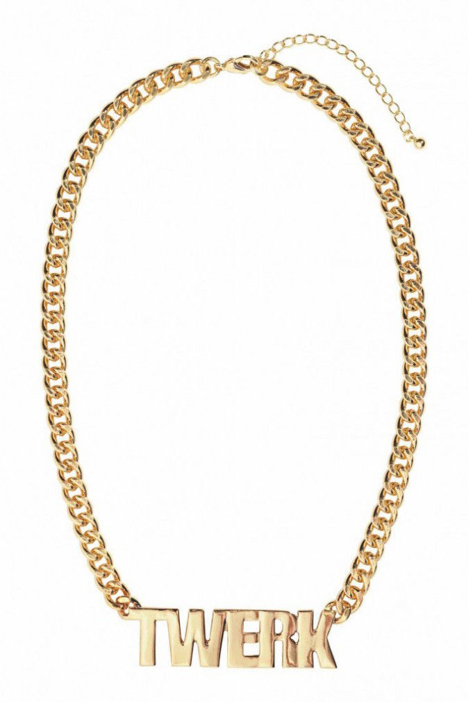 Collier chaîne, H&M. 7,99 €