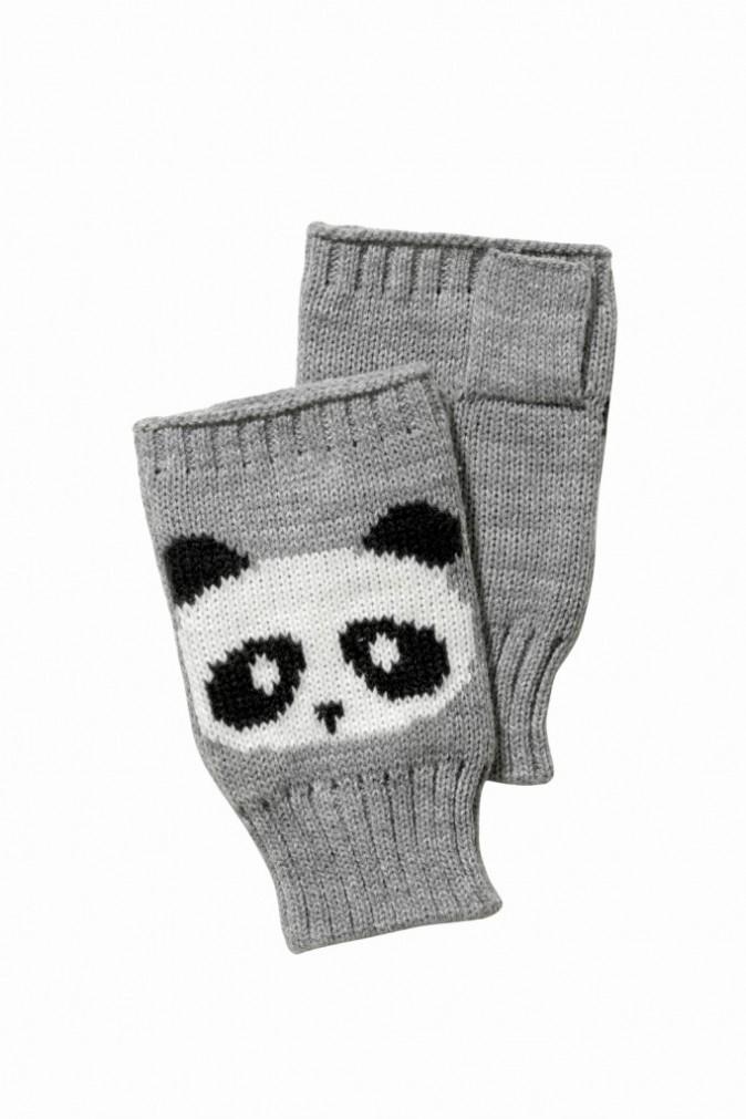 Mitaines Panda, C&A. 5 €.