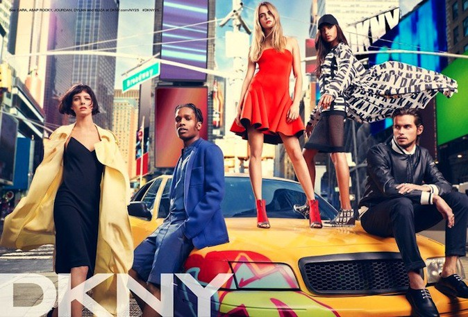 Cara Delevingne pour DKNY !