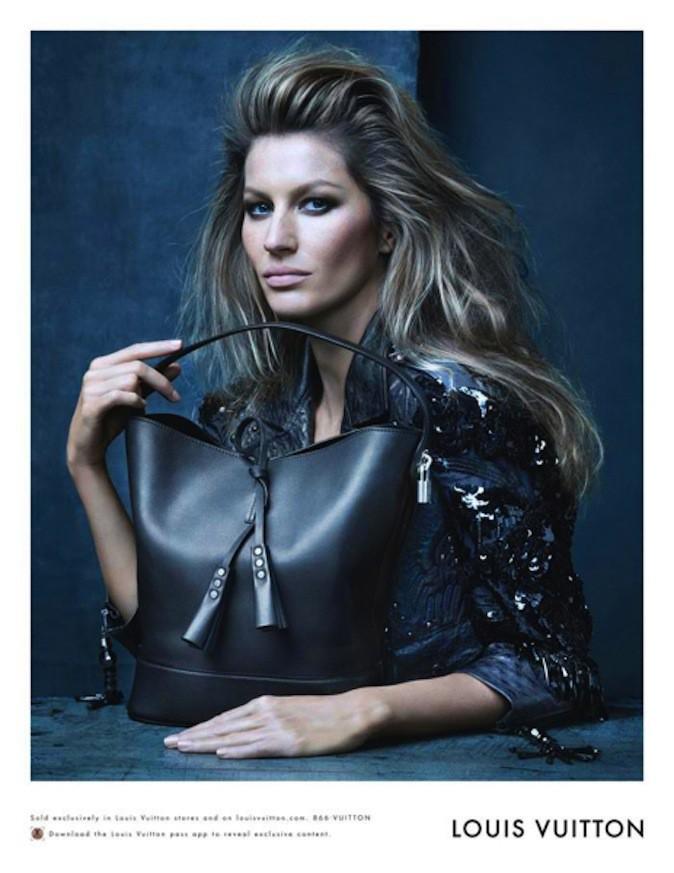 Gisele Bundchen pour Louis Vuitton !