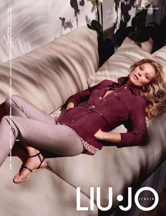 Kate Moss pour Liu Jo !