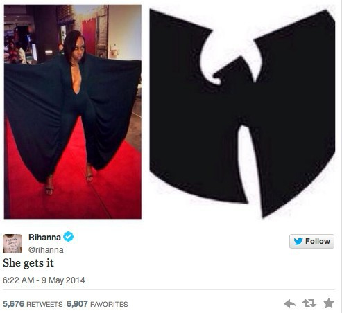 Le second tweet de Rihanna