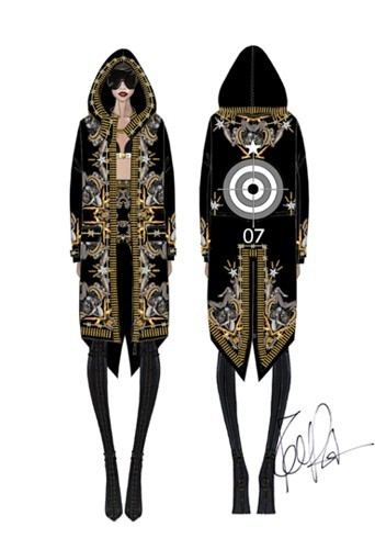 Manteau baroque Givenchy