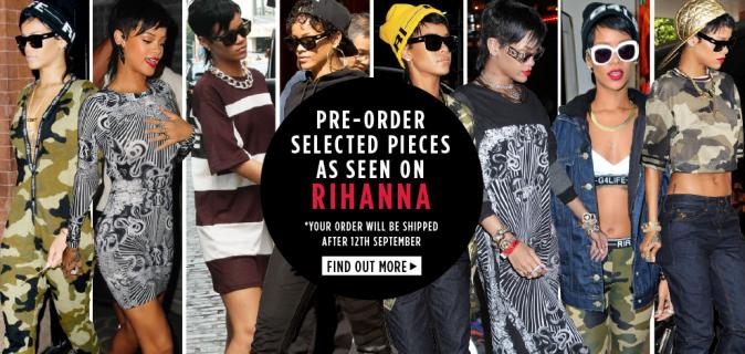 Rihanna : sa troisième collection avec River Island lancée dans deux jours !