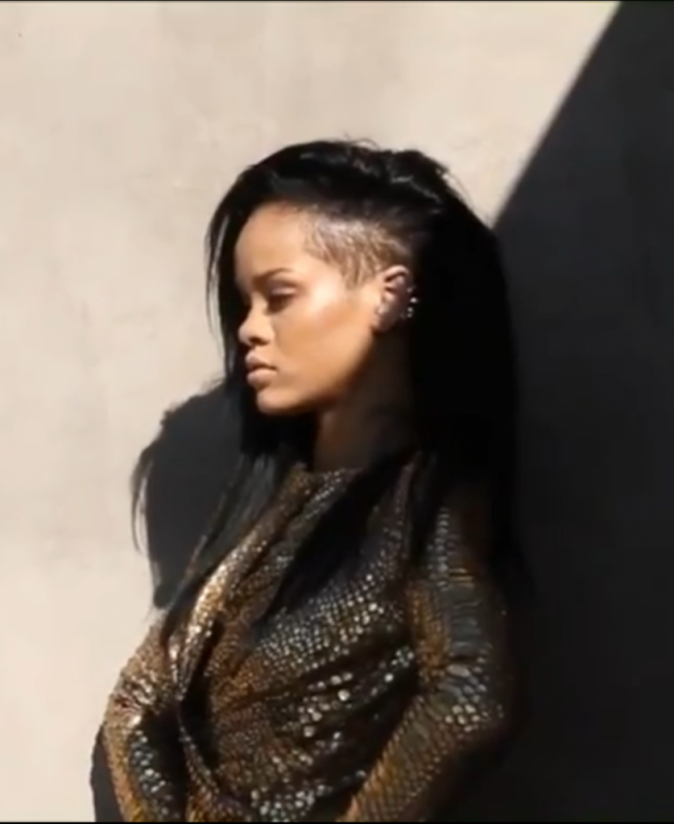 Rihanna, Harper's Bazaar Août 2012