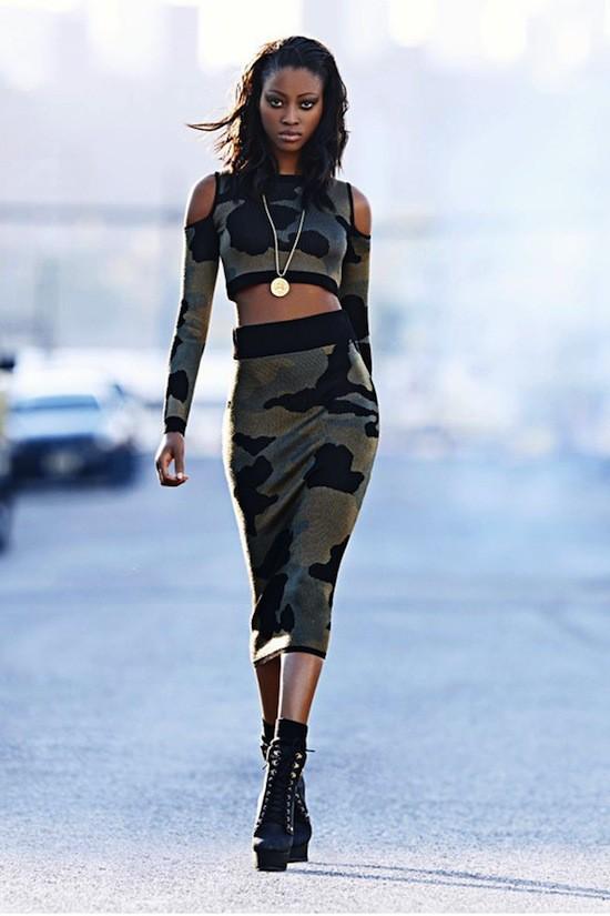 """Mode : Rihanna : une seconde collection tout aussi """"gangsta"""" que son look pour River Island !"""