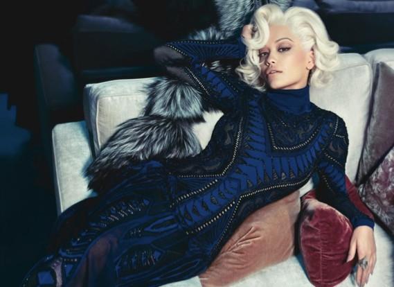 Rita Ora : une Marilyn Monroe des temps modernes pour Roberto Cavalli …