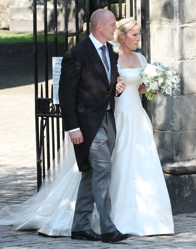 La robe Stuart Parvin de Zara Phillips !