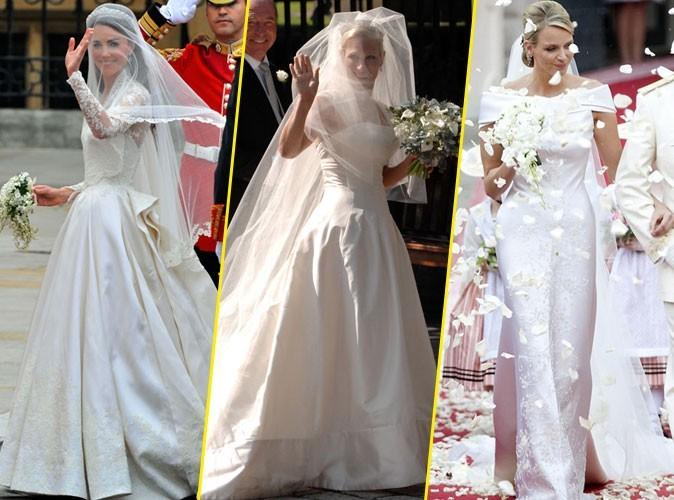 Laquelle de ces robes de mariée de princesse vous fait le plus rêver ?
