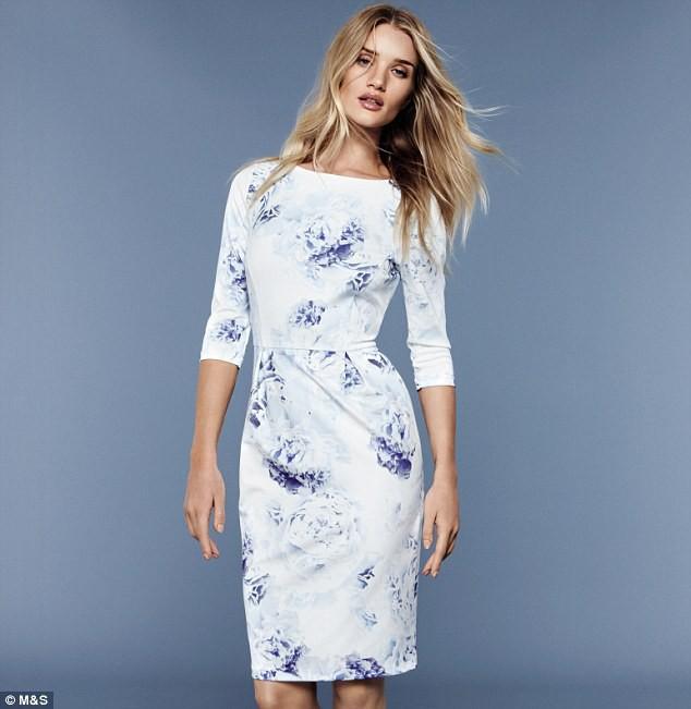 Mode : Rosie Huntington-Whiteley nous habille chez Mark & Spencer !
