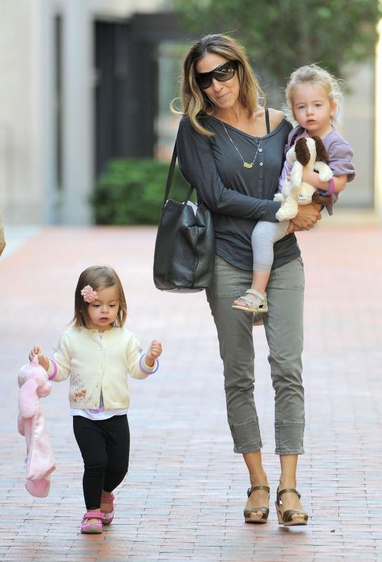 Marion et Tabitha, les filles de Sarah Jessica Parker, fashion addict à 4 ans !