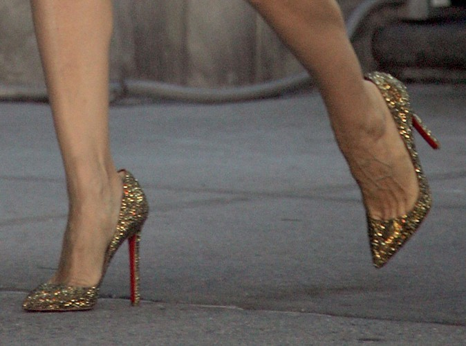 Les talons hauts de Carrie Bradshaw dans Sex and the City 2