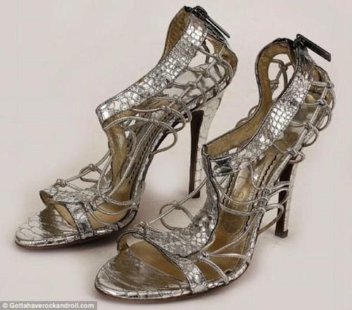 Les chaussures Jonathan Kelsey de Sarah Jessica Parker mises aux enchères