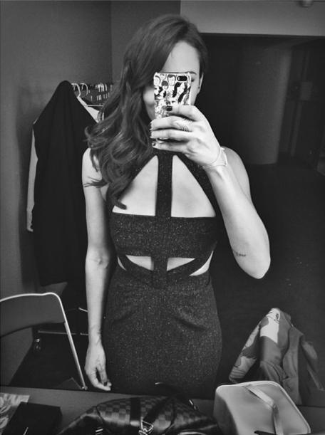 Mode : Shy'm : elle dévoile l'une de ses sublimes créations à la soirée Miss France !