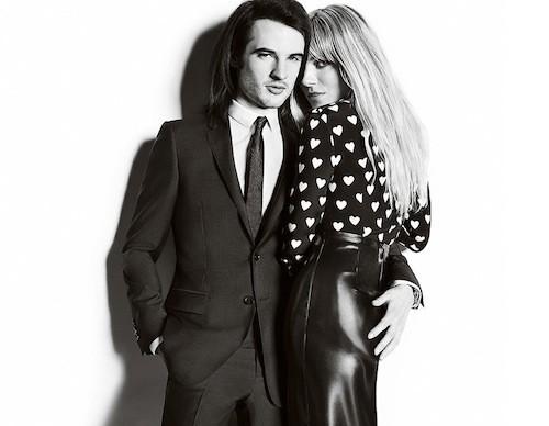 Mode : Sienna Miller : petite séance de french kisses avec son boyfriend Tom Sturridge pour Burberry !
