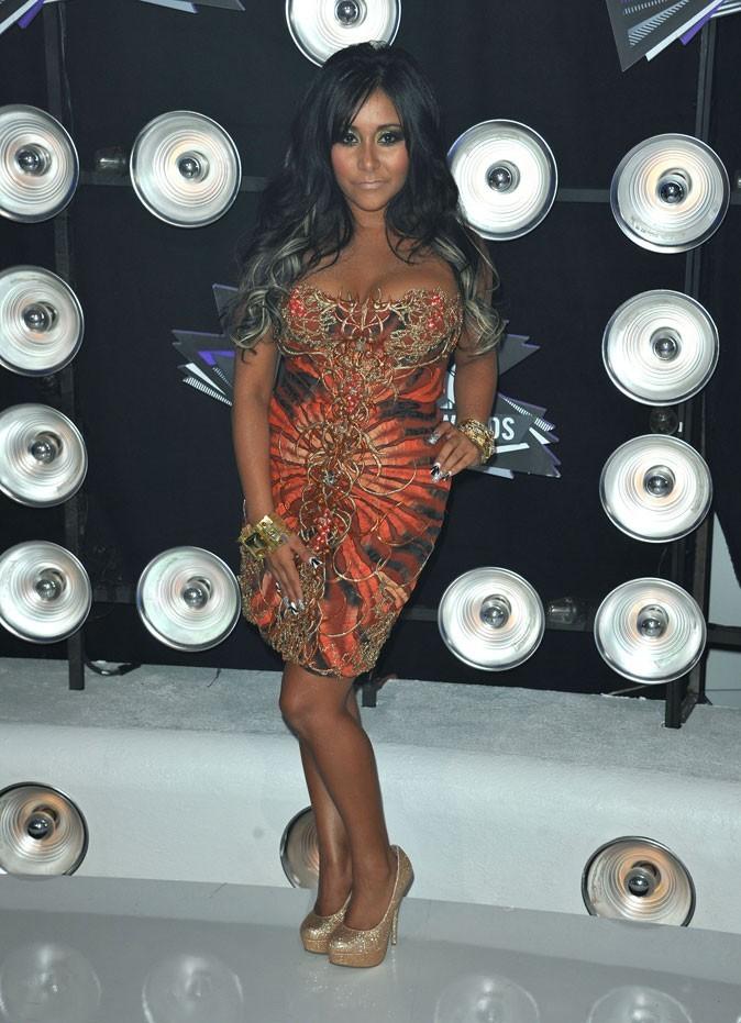 La robe bustier de Snooki aux MTV Music Video Awards !