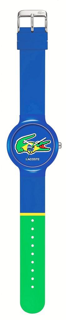 Montre-bracelet en silicone, Lacoste 75 €