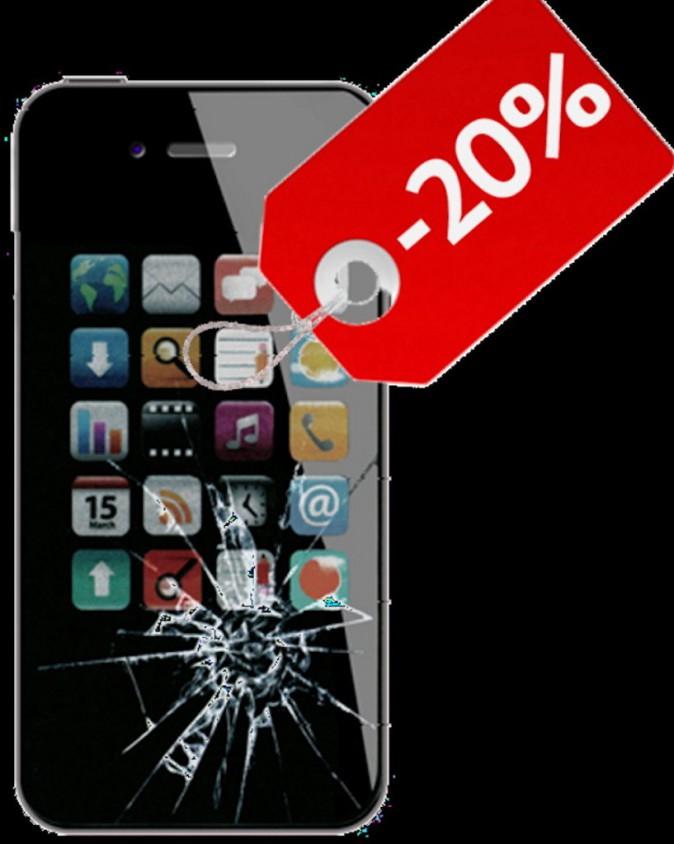 S.O.S. smartphone cassé