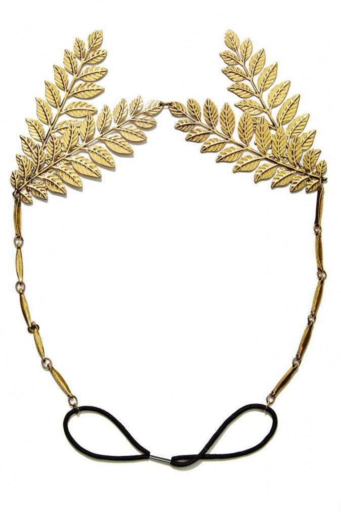 Headband feuilles de laurier, Nasty Gal 15 €