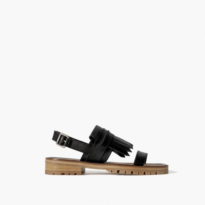 Semelles crantées, Zara 70 €