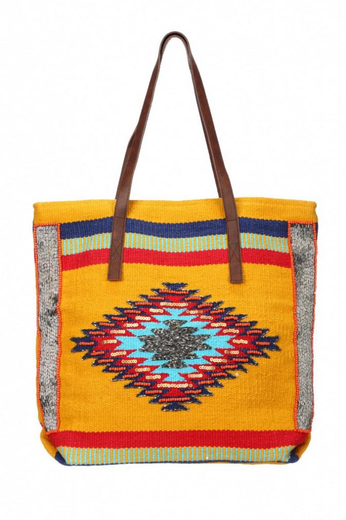 Cabas aztèque, Amenapih Chez Narda 75 €