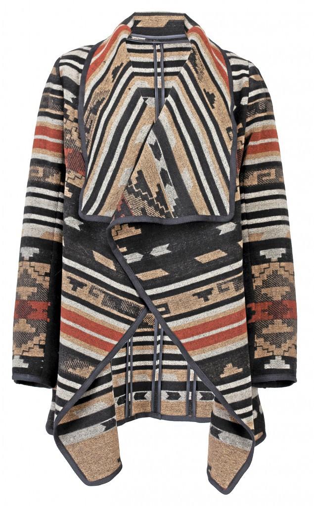 Manteau à imprimé ethnique, Tissaia by Leclerc, 27,30€