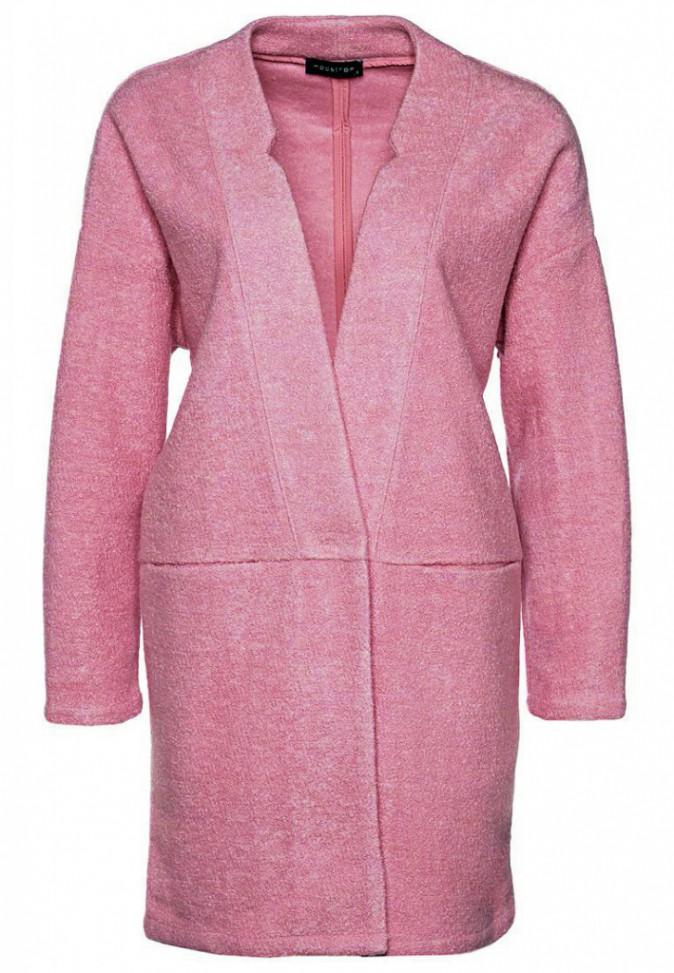 Manteau rose, Noisy May, 60€