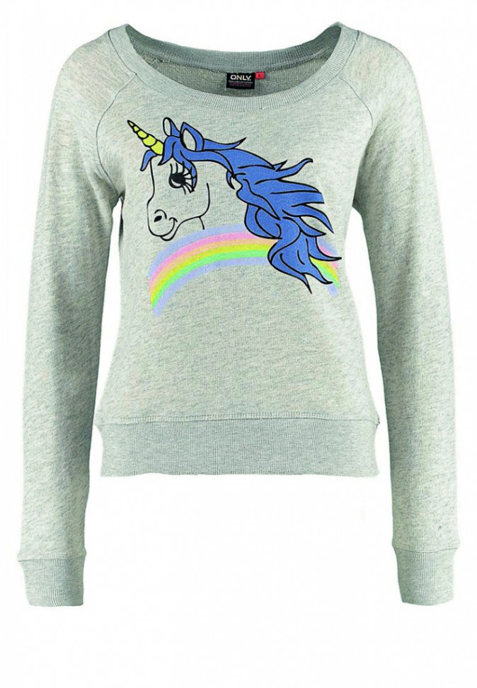 Pull licorne, Only, 19,50€