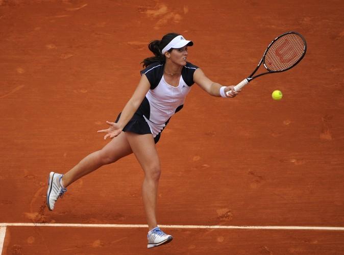 L'internationale britannique Laura Robson à Roland Garros porte les créations de Stella McCartney.