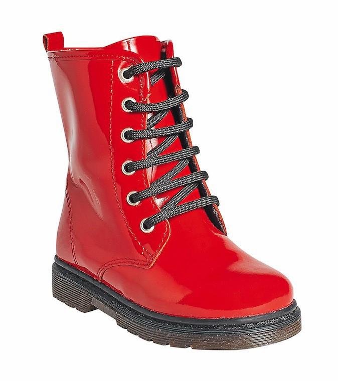 Boots lacées vernies, Gémo gemo.fr 40 €